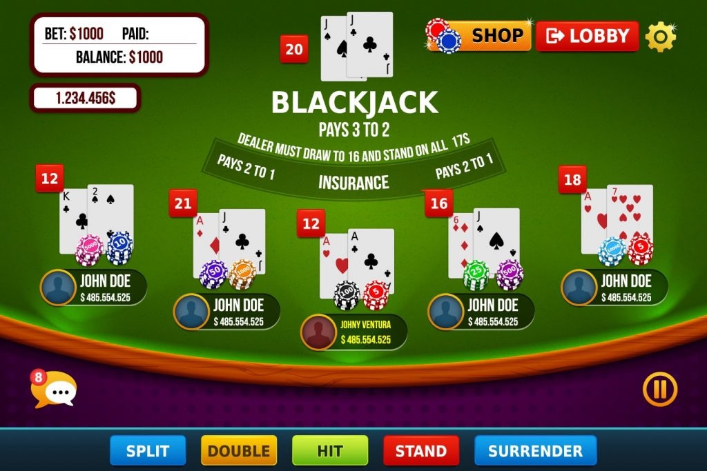 Features Of Blackjack Games Are Explained!